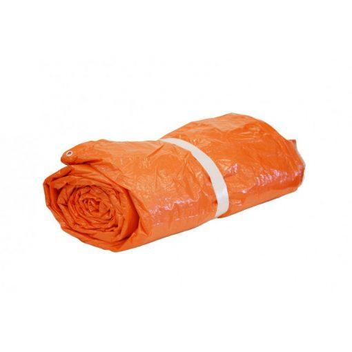 Oranje isolatie afdekzeil 290gr/m² | Afdekzeilen.be