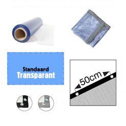 Transparante PVC folie op maat