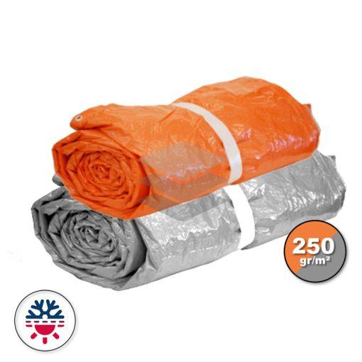 Isolatie dekzeil zilver/oranje 250gr