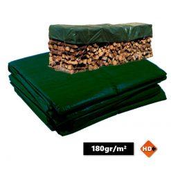 Groen afdekzeil 1.5x6m 180gr/m²