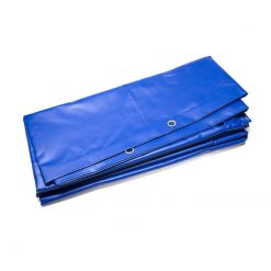 Blauwe PVC afdekzeilen 600gr/m² | Afdekzeilen.be
