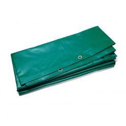 Groene PVC afdekzeilen 600gr/m² | Afdekzeilen.be