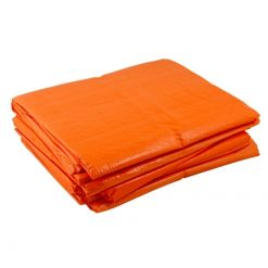 Oranje afdekzeil 150gr/m²   Afdekzeilen.be