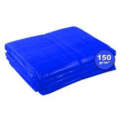 Blauwe afdekzeilen 150gr/m²   Afdekzeilen.be