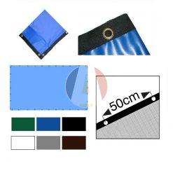 Waterdicht 600gr/m² PVC zeil op maat gemaakt