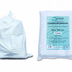 Geweven puinruimzakken 65x100cm 10st. | Afdekzeilen.be