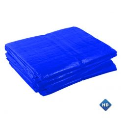 Blauwe afdekzeilen 150gr/m² | Afdekzeilen.be